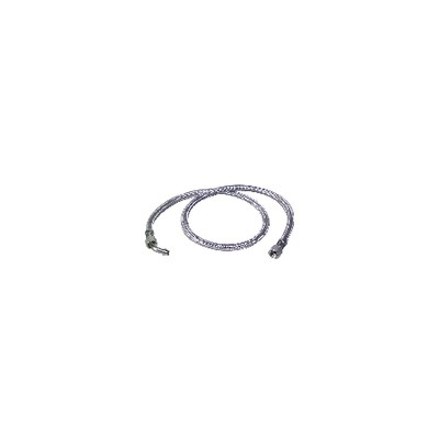 "Flexible gasóleo H3/8"" x H14/150 codo 45°  (X 2) - BAXI : SRN066976"