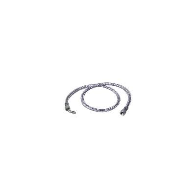 "Hose fuel f3/8"" x f14/150 with ring bent 45°  (X 2) - BAXI : SRN066976"