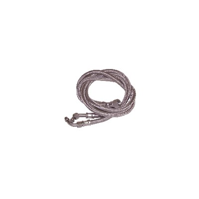 """Hose fuel f3/8"""" x f12/100 with ring bent 45°  (X 2) - WEISHAUPT : 491046"""
