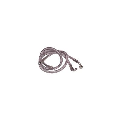 Flexible H14/150 x H14/150 codo 90° lg 750mm  (X 2) - CUENOD : 74891