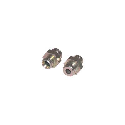 Nipple fioul M12/125 conique x M1/4 (X 2)
