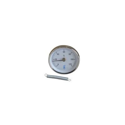 Anliegethermometer Durchmesser 80mm