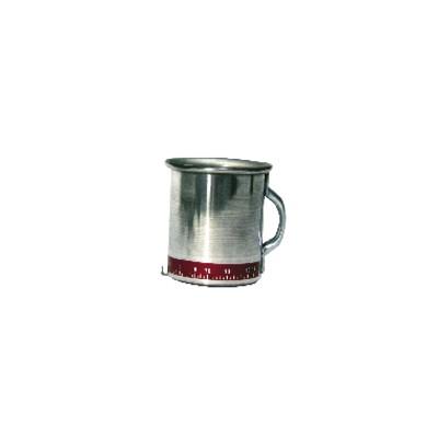 Tazza alluminio misura portata
