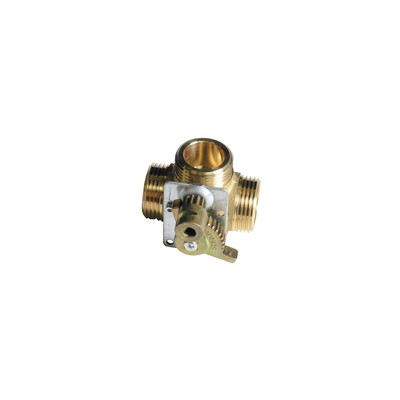 3-way valve with gear - COSMOGAS : 62607047
