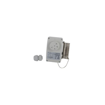 Waterproof room thermostat type ert