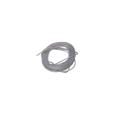 Cable alta tensión PTFE 250°C Long 5m