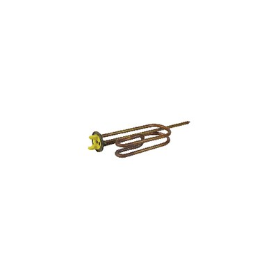 Résistance blindée à bride Ø48mm 2200W - DIFF pour Chaffoteaux : 60000689