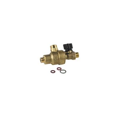 Backflow preventer m1/4 lg92 1 upstream valve - GEMINOX : 87168323280