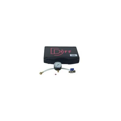 Gas pressure test kit gas manometer 60 mbars