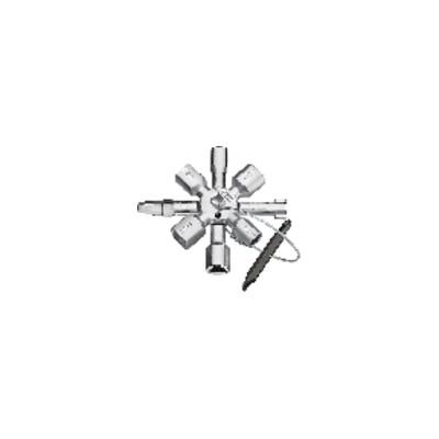 Chiave multifunzione Knipex Twinkey®  - KNIPEX - WERK : 00 11 01