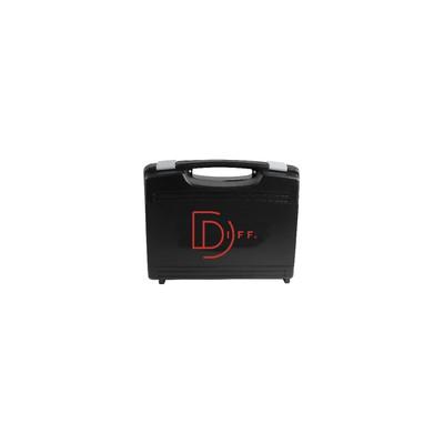 Leerer Koffer Schwarzer Koffer mit 2 Schaumstoffen 247x177x76