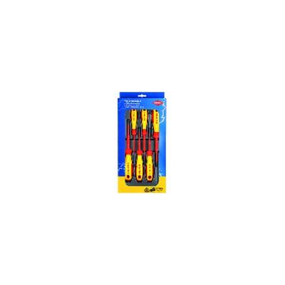 Assortimento di 6 giraviti vde phillips / pozidriv - KNIPEX - WERK : 00 20 12 V03