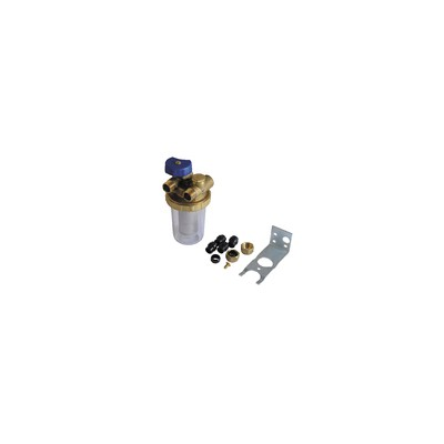 Oil filter twin-tube Mf3/8 - GIACOMINI : N1UY012