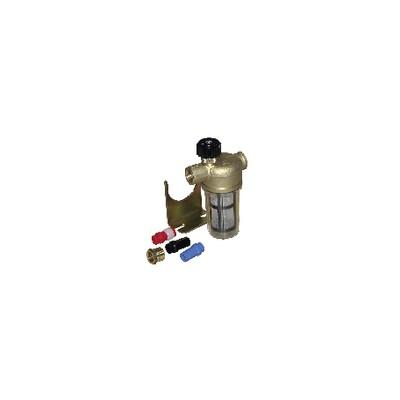 "Filtro 1 conducto con válvula de corte HH 3/8"" RV - WATTS INDUSTRIES : 22L0135100"