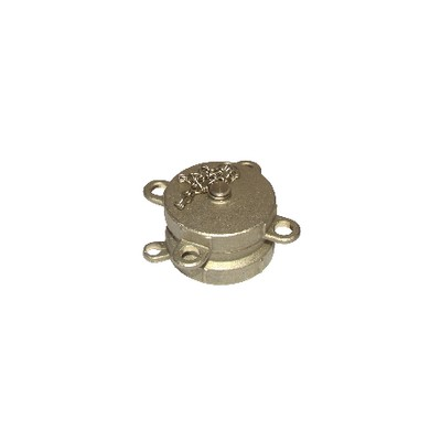 """Half coupling female ø 2"""" with plug and chain"""