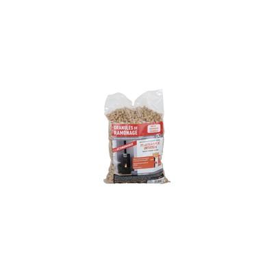 Ramonage chimique à pellets