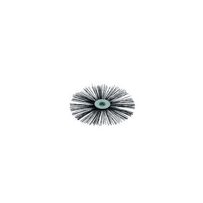 Cepillo plano de nylon alta temperatura Ø 100mm