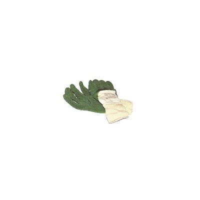 Handschuhe aus natürlichem Latex (Größe 9 - XL)