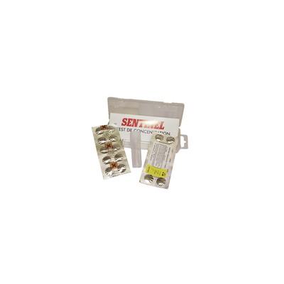 Étiquette polystyrène rigide - Clé de fermeture M1