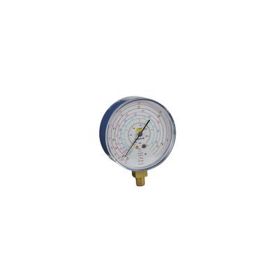 Manomètre Ø80mm BP -1 à 20b antipulsation - GALAXAIR : 811-E8