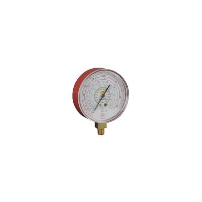 Manomètre Ø80mm HP -1 à 45b antipulsation - GALAXAIR : 812-E8