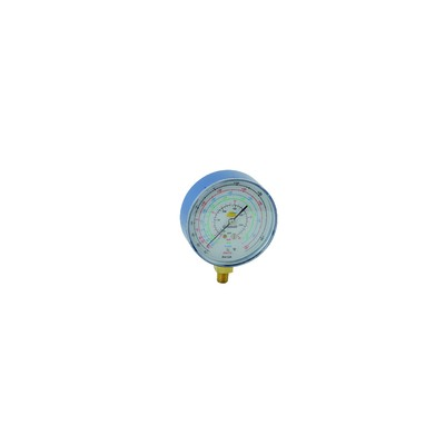 Manomètre Ø80mm BP CLIM -1 à 20b antipulsation - GALAXAIR : 811-CLIM