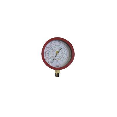 Manomètre Ø80mm HP CLIM -1 à 45b antipulsation - GALAXAIR : 812-CN