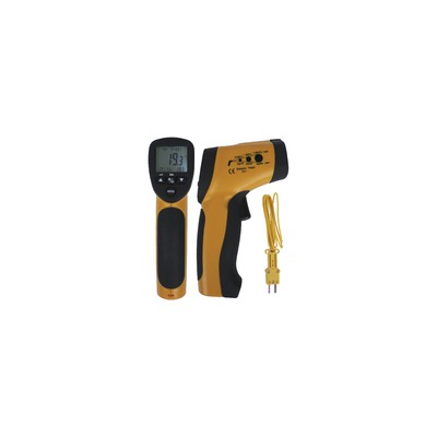 Infrared thermometer and thermocouple sensor type K - GALAXAIR : TIR-30K