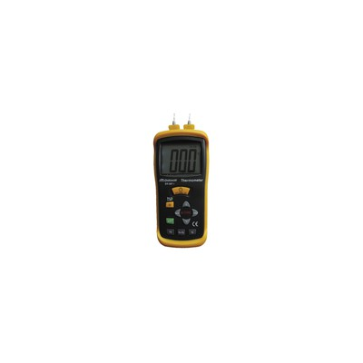 Differential thermometer with 2 sensors - GALAXAIR : DT-307+