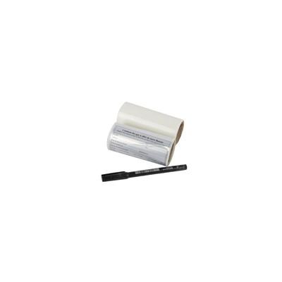 25 etiquetas identificatión aluminio (X 25) - GALAXAIR : ETIC/25 ALU F GAS+PROTEC