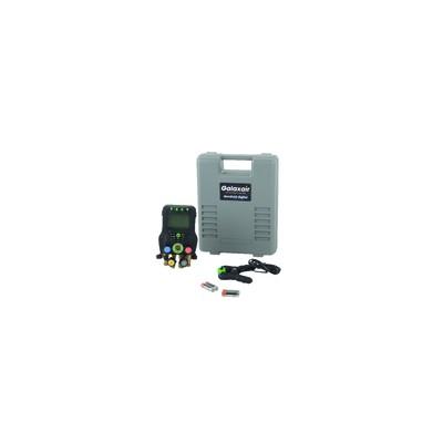 Manifold électronique 4 voies et sonde température - GALAXAIR : CROD - CRM003