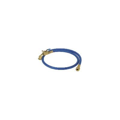 """Caño azul longitud 0,90m Ø 1/4"""""""