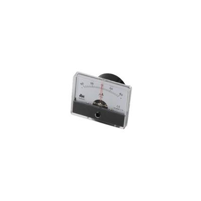Micro amperímetro empotrado-50 a 50µA