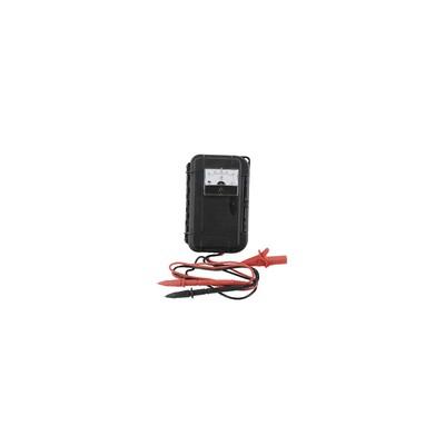 Micro amperímetro portátil -50 a 50µA