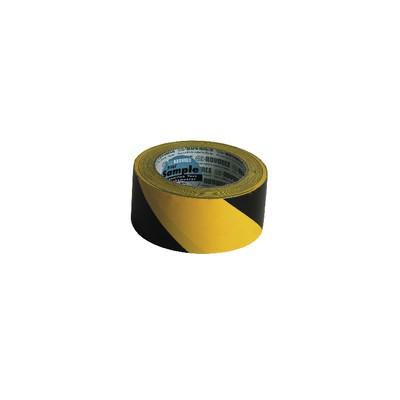 Cinta Adhesiva Marcado amarillo/negro (50mm x 33m) - ADVANCE : 110001