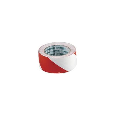 Ruban adhésif marquage rouge/blanc 50mmx33m - ADVANCE : 110148