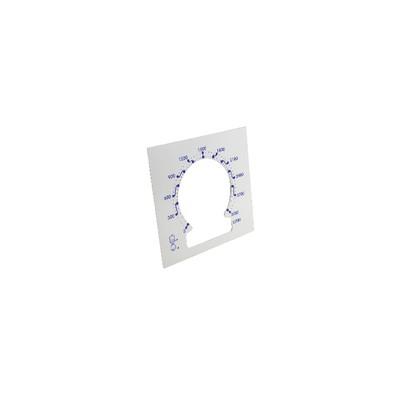 Dial of gauge 3000/30000/5000/50000 liters - tele