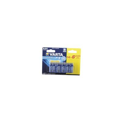 Batterien VARTA LR03 (X 20)