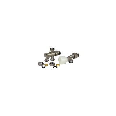 """4 ways valve R436TG 1/2"""" x 16 - GIACOMINI : R436X062"""