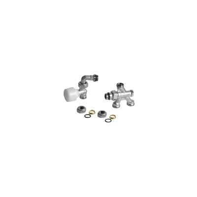 4 valves faucet R436/1TG - GIACOMINI : R436IX044
