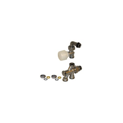 "4 ways valve R436/2TG 1/2"" x 18 - GIACOMINI : R436IX053"