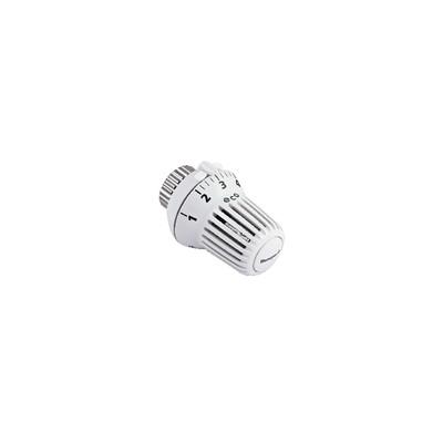 Cabezal termostática Thera-3 blanca con punto cero