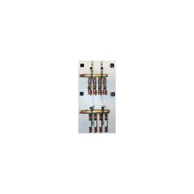 Modulo idraulico per stacco di contabilizzazione idraulico dotato di filtro - GIACOMINI : GE530Y012