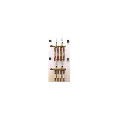 Modulo idraulico per stacco di contabilizzazione idraulico dotato di filtro e valvola di regolazione - GIACOMINI : GE530Y024