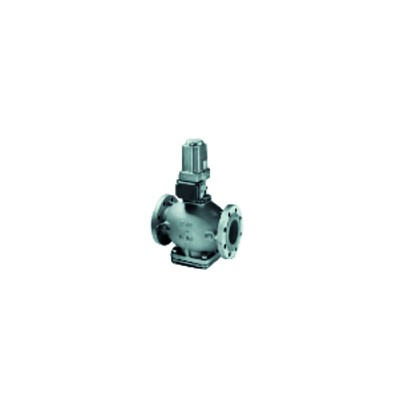 Vanne gaz à brides DN80 et contact fin de course - JOHNSON CONTR.E : GH-5629-4611