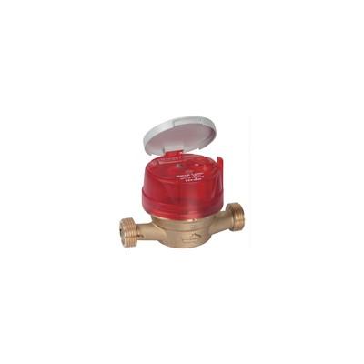 Compteur divisionnaire eau chaude 20/27 - ITRON : 6UWB15Y110BR50LCDXN_FR