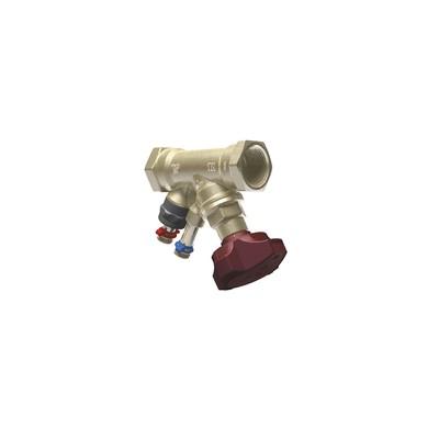 "STAD balancing valve threaded F 1 1/4"" - IMI HYDRONIC : 52851132"