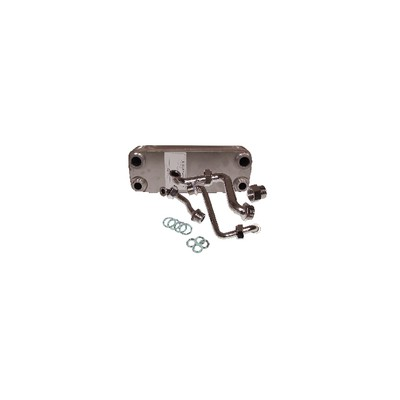 Heat exchanger 14 plates  - DIFF for Vaillant : 064946
