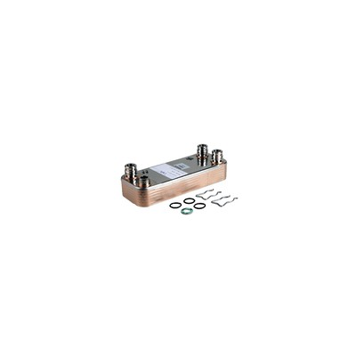 Domestic hot water exchanger 12 plates - DIFF for Vaillant : 065131