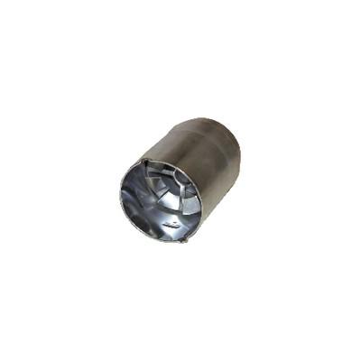 Tube de flamme HS 10 defl soudé - BENTONE AHR : 11934005